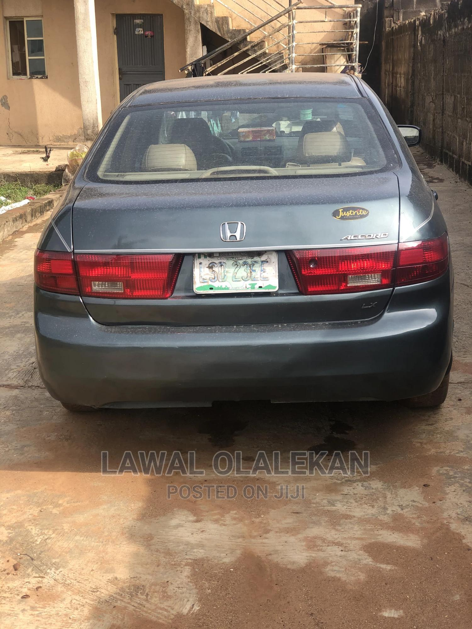 Honda Accord 2005 2.4 Type S Automatic Green | Cars for sale in Abule Egba, Lagos State, Nigeria