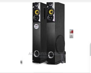 2.0ch X-Bass Tower Speaker With Nice Sound + Free Surge   Audio & Music Equipment for sale in Kano State, Kano Municipal