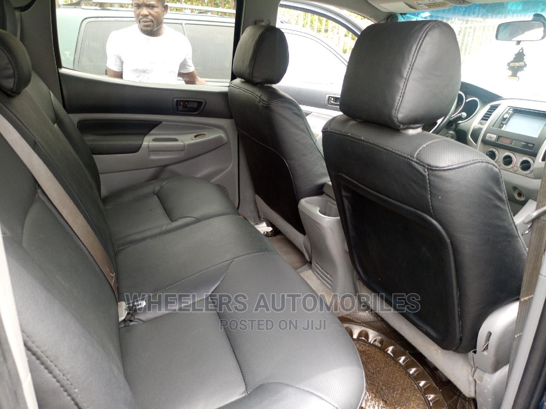 Toyota Tacoma 2008 4x4 Double Cab Blue | Cars for sale in Amuwo-Odofin, Lagos State, Nigeria