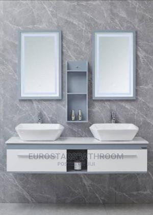 Double Wash Hand PVC Bathroom Cabinet Basin | Plumbing & Water Supply for sale in Lagos State, Orile