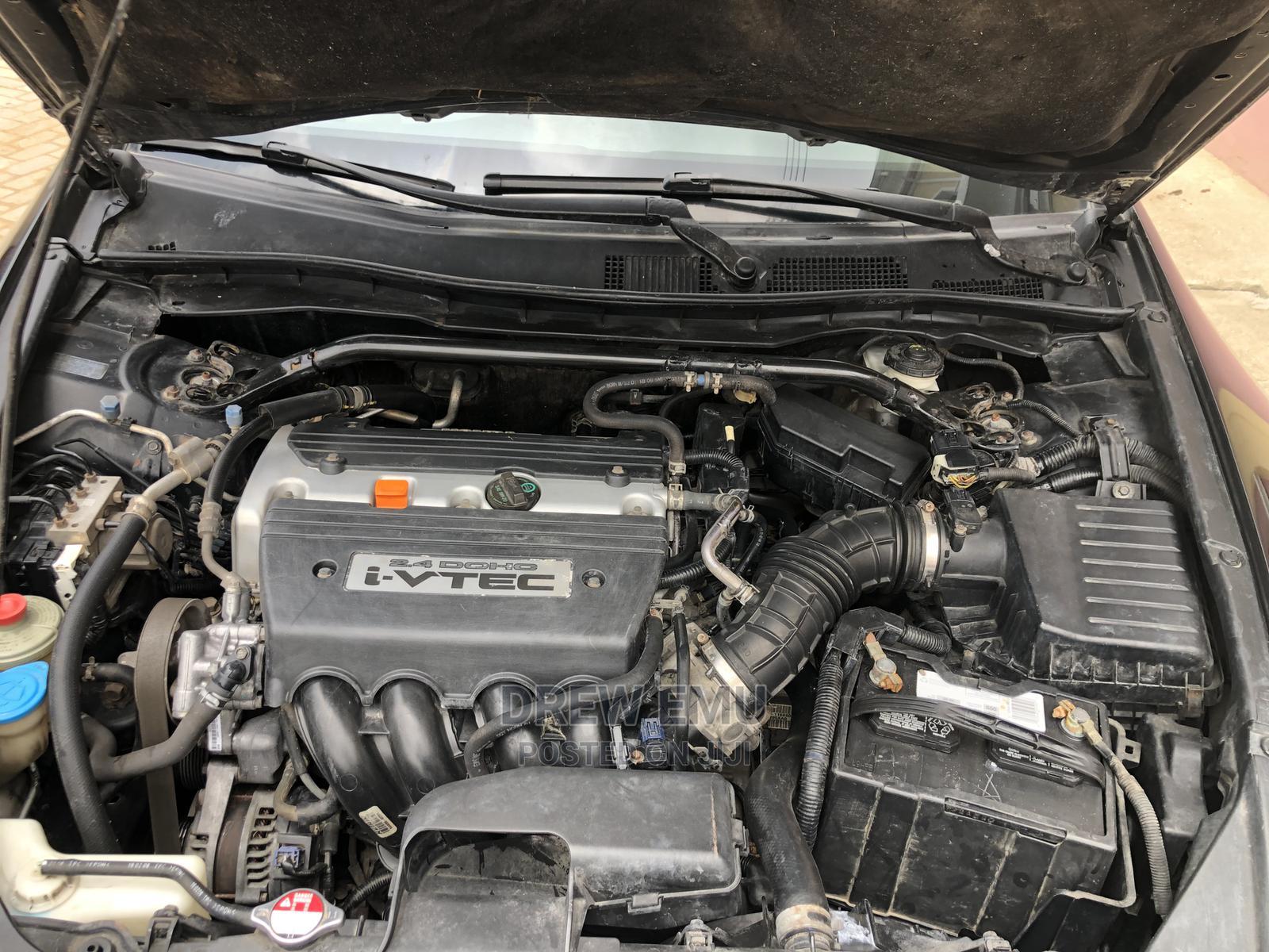 Archive: Honda Accord 2008 Coupe 2.4 EX Automatic Black
