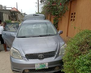 Toyota Matrix 2004 Gray   Cars for sale in Lagos State, Ajah