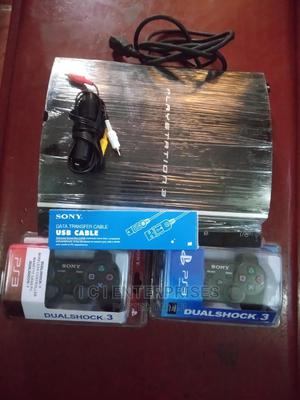 Sony Playstation 3 Game Plus 2 Controllers And Games | Video Game Consoles for sale in Lagos State, Ikeja