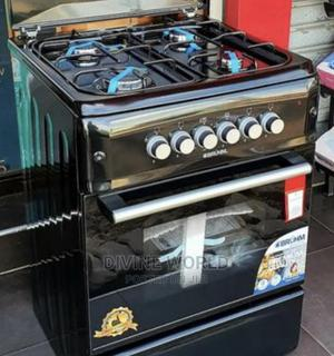 Brand New Bruhm Standing Gas Cooker 4burners With Oven   Kitchen Appliances for sale in Lagos State, Ojo