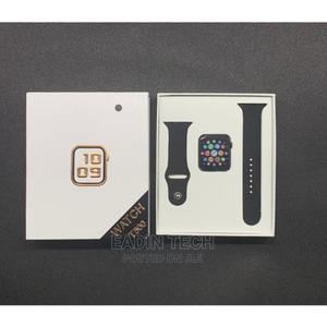 T500 Smart Watch Bt Call Series 4 5 Smart Bracelet   Smart Watches & Trackers for sale in Lagos State, Ikeja
