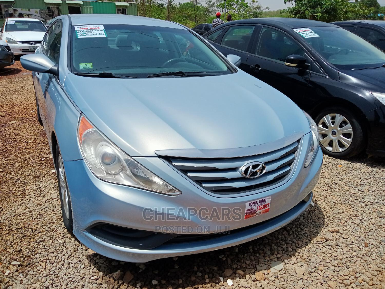 Hyundai Sonata 2014 Blue   Cars for sale in Katampe, Abuja (FCT) State, Nigeria