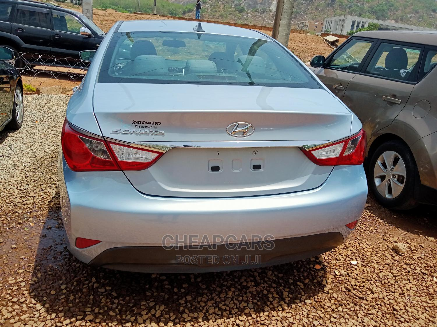 Hyundai Sonata 2014 Blue | Cars for sale in Katampe, Abuja (FCT) State, Nigeria