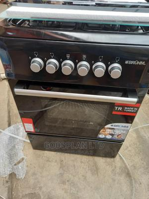 Bruhm 4 Burner Gas Cooker With Grill and Oven 60 by 60   Kitchen Appliances for sale in Lagos State, Ikeja