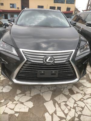 Lexus RX 2019 350L Luxury FWD Black | Cars for sale in Lagos State, Ikeja