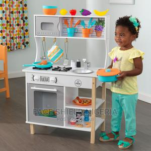Kidkraft All Time Wooden Play Kitchen With 38 Piece Accessor   Toys for sale in Lagos State, Ajah
