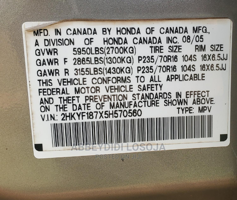 Archive: Honda Pilot 2005 EX 4x4 (3.5L 6cyl 5A) Gold
