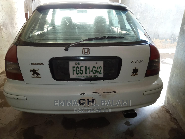 Honda Civic 1999 CX 2dr Hatchback White   Cars for sale in Tarauni, Kano State, Nigeria