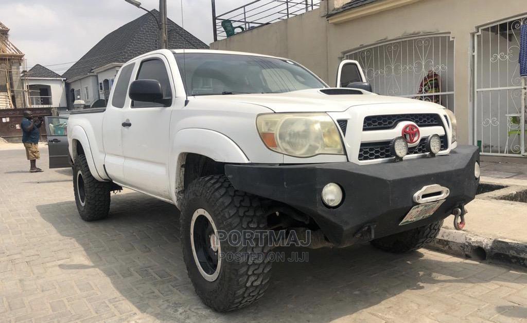 Toyota Tacoma 2007 White | Cars for sale in Amuwo-Odofin, Lagos State, Nigeria