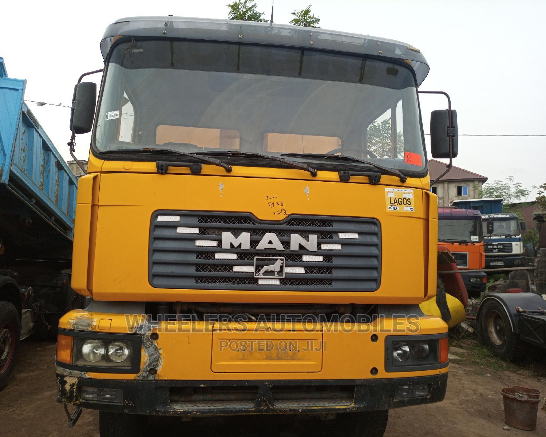 Man DIESEL Dump Truck
