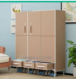 Superstrong Steel Mobile Wardrobe With Drawers   Furniture for sale in Oyo State, Ido