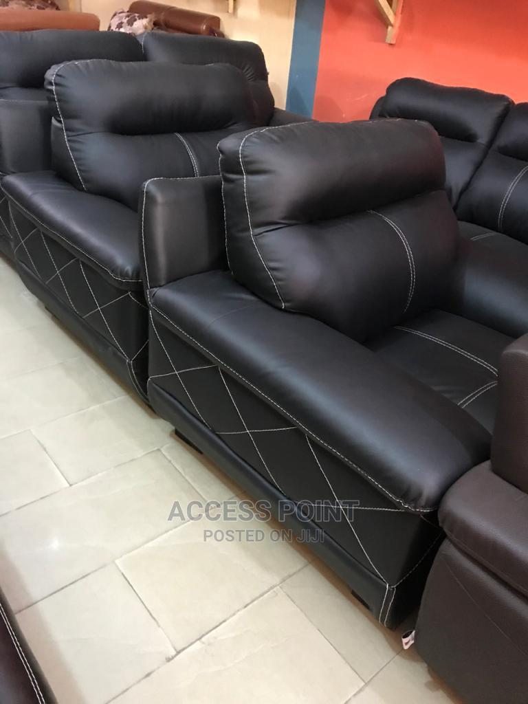 Classic 7 Seaters Leather Sofa Chair.
