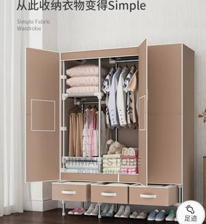 Durable Steel Mobile Wardrobe With Quality Door 3 Draw   Furniture for sale in Oyo State, Ido