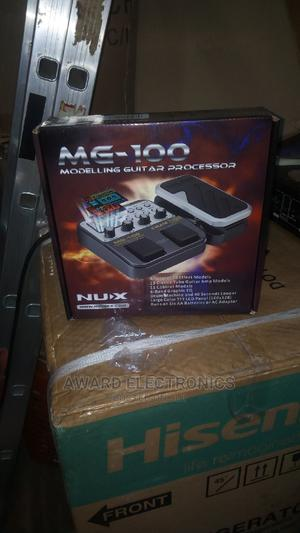 Nux Modeling Guitar Processor, Model MG -100 | Musical Instruments & Gear for sale in Lagos State, Ikeja