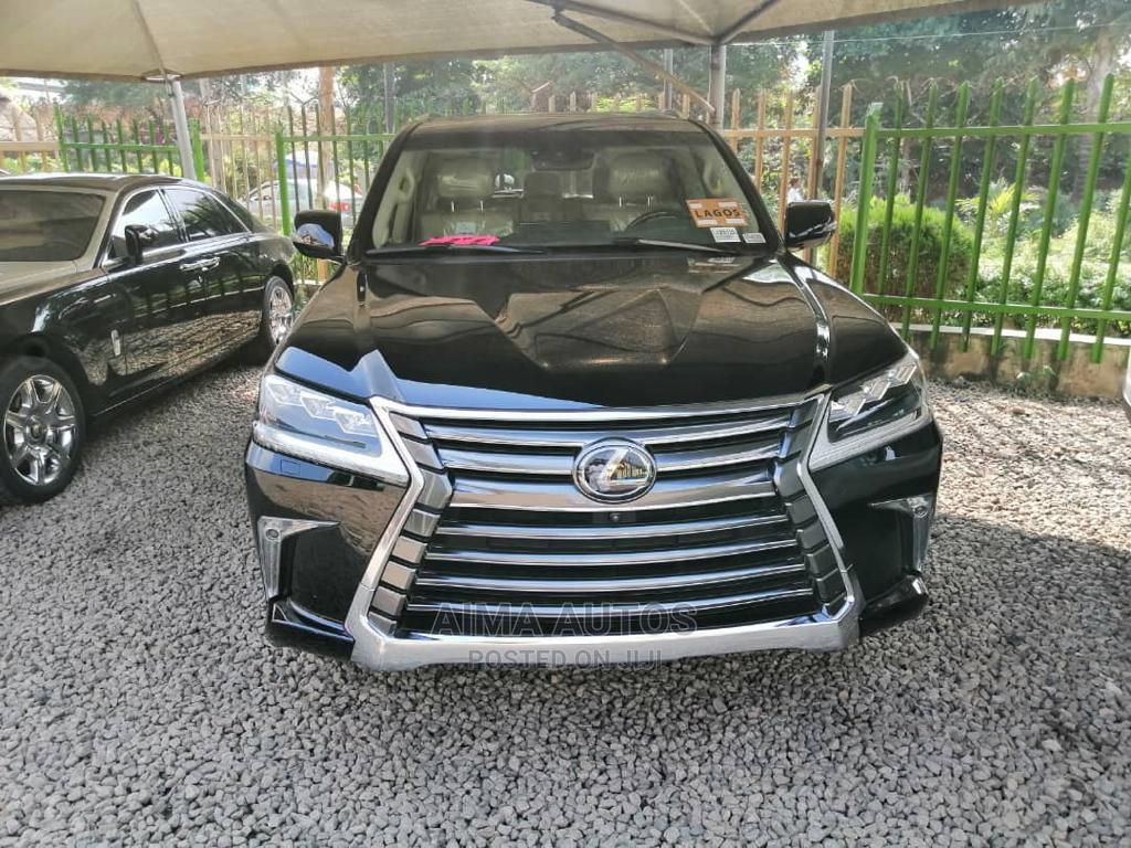Lexus LX 2018 570 Three-Row Black