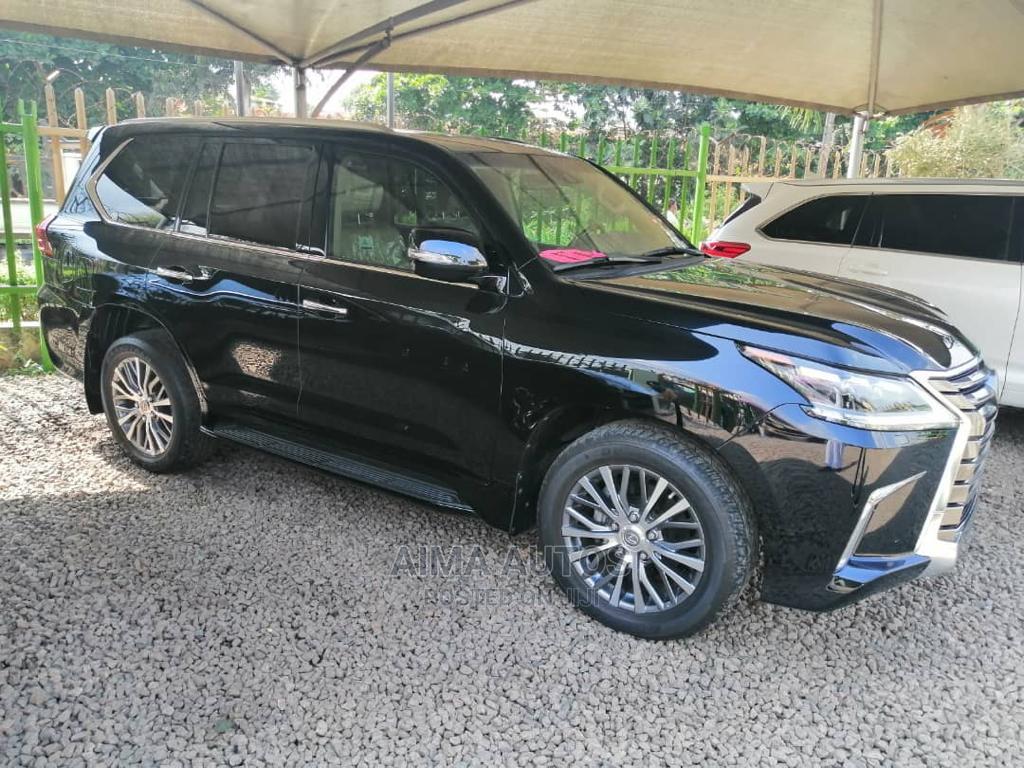 Lexus LX 2018 570 Three-Row Black | Cars for sale in Ikorodu, Lagos State, Nigeria