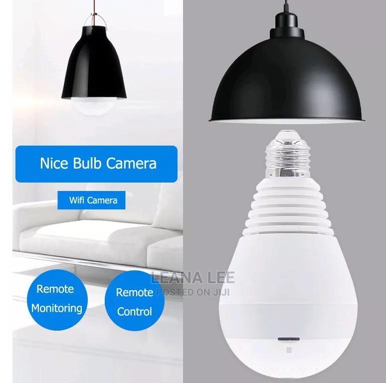 CCTV Camera Bulb Surveillance Camera