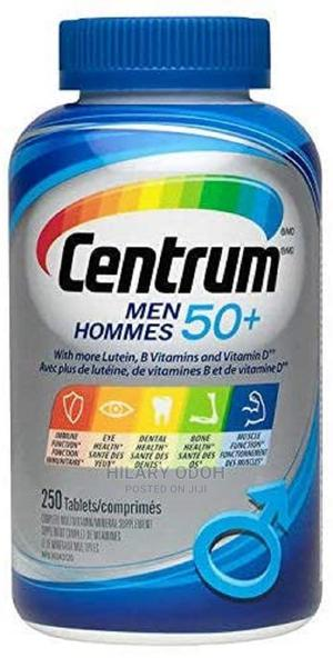 Centrum Multivitamin/Mineral for Men 50+, 250 Tablets | Vitamins & Supplements for sale in Lagos State, Ojo