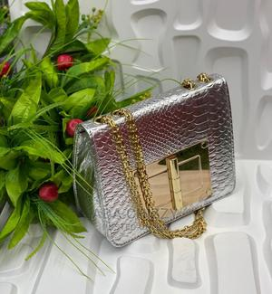 Quality Silver Female Handbag | Bags for sale in Lagos State, Isolo
