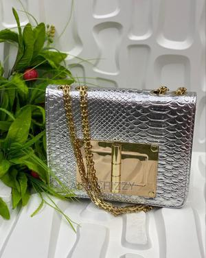 Silver Female Tom Ford Handbag | Bags for sale in Lagos State, Isolo