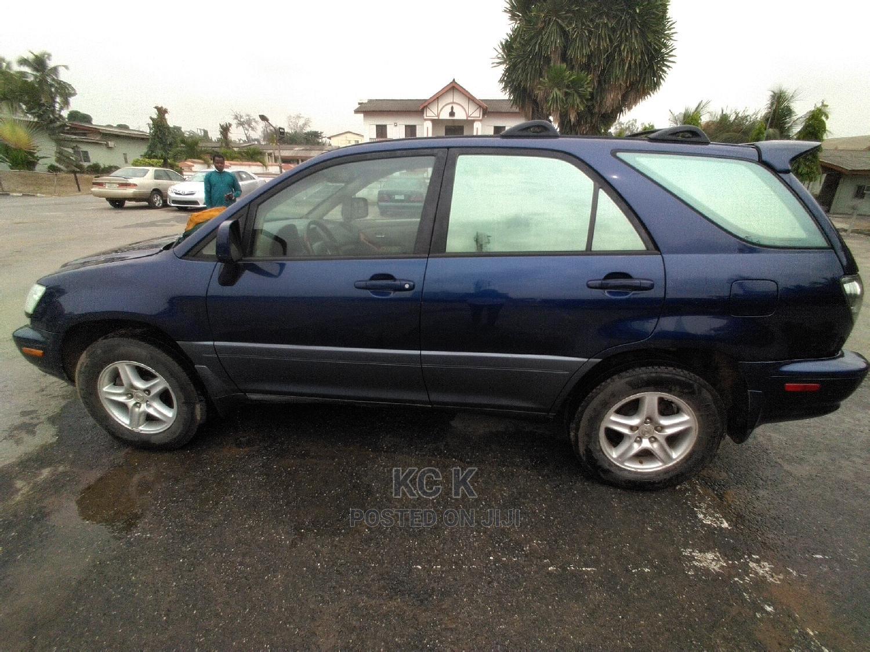 Lexus RX 2003 Blue