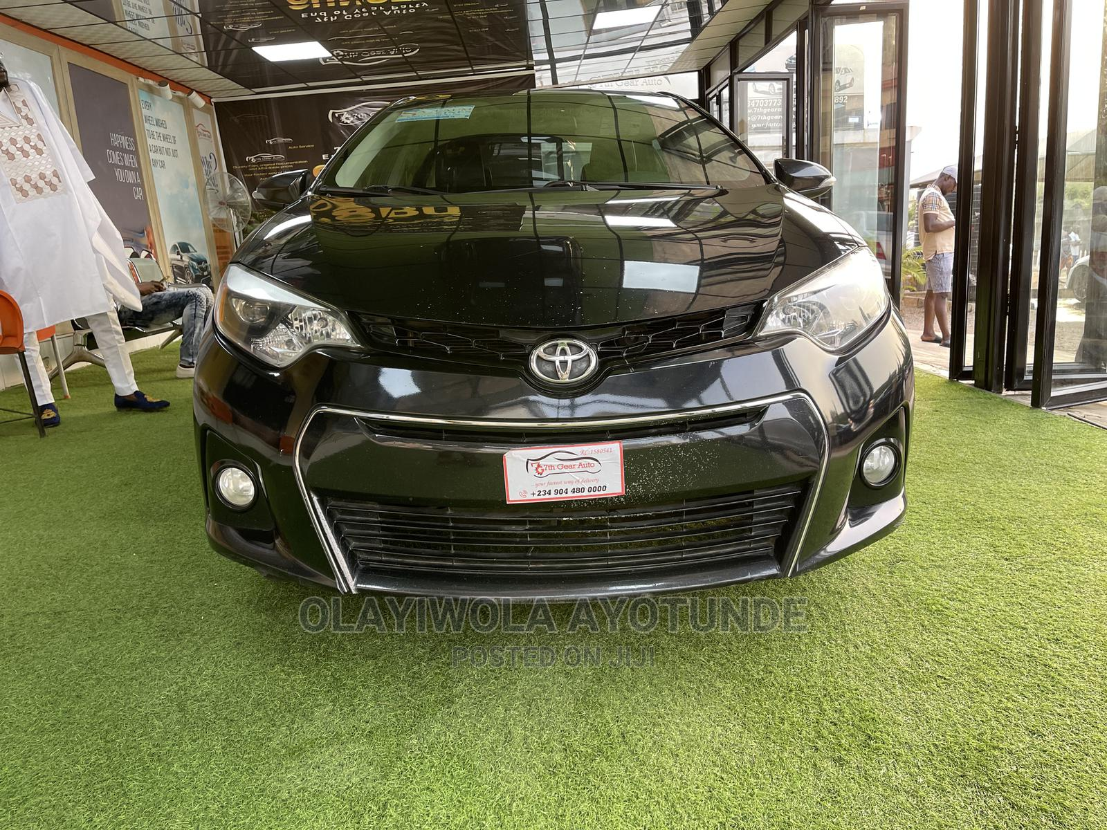 Toyota Corolla 2014 Black | Cars for sale in Central Business Dis, Abuja (FCT) State, Nigeria