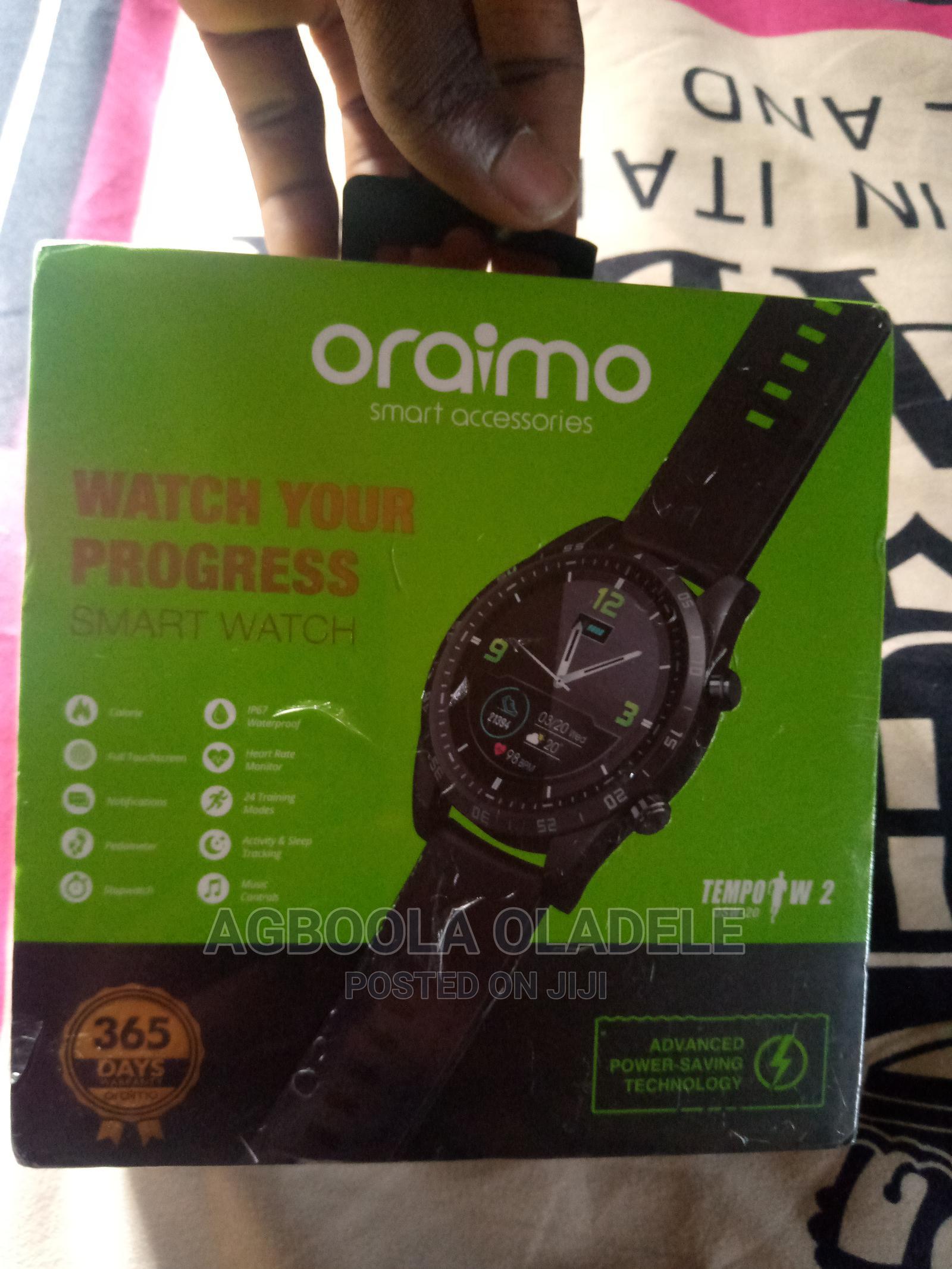 Archive: New Oraimo Smart Watch