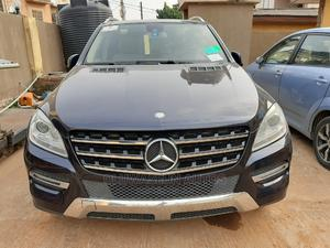 Mercedes-Benz M Class 2012 ML 350 4Matic Gray | Cars for sale in Lagos State, Ifako-Ijaiye