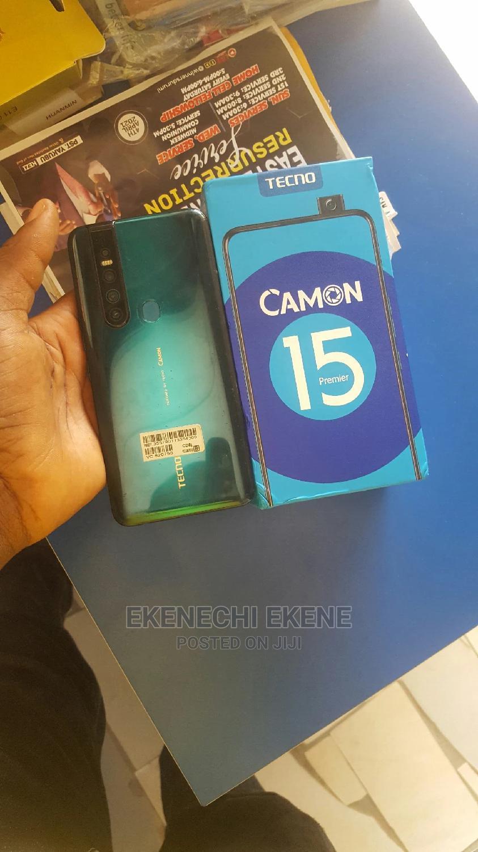 Archive: Tecno Camon 15 Premier 128 GB Green