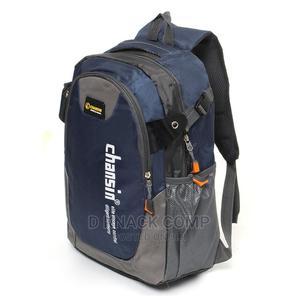 Waterproof School Bag Travel Backpack - Navy Blue | Bags for sale in Lagos State, Ikotun/Igando
