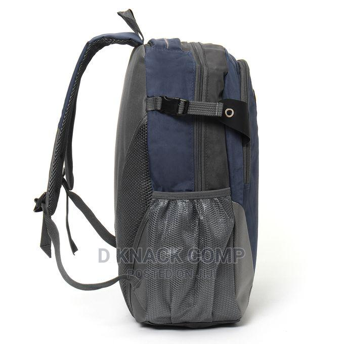 Waterproof School Bag Travel Backpack - Navy Blue | Bags for sale in Ikotun/Igando, Lagos State, Nigeria