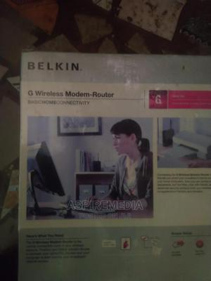 G Belkin Wireless Router Modem | Networking Products for sale in Lagos State, Ikeja