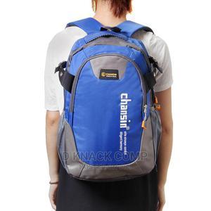 School Travel Backpack Bag Waterproof - Blue | Bags for sale in Lagos State, Ikotun/Igando