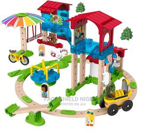 Fisher-price Wonder Makers Slide & Ride Schoolyard Building | Toys for sale in Lagos State, Ajah