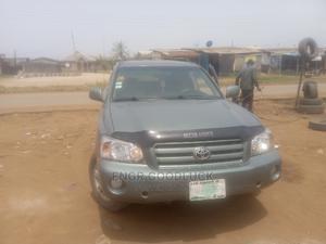 Toyota Highlander 2005 V6 4x4 Green | Cars for sale in Lagos State, Ikorodu
