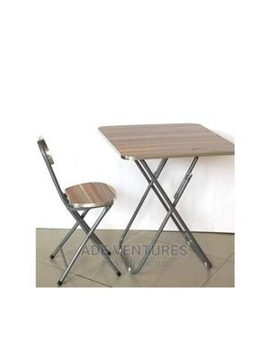 Adjustable Reading/ Laptop Table and Chair(Wood Metal) | Furniture for sale in Lagos State, Lagos Island (Eko)