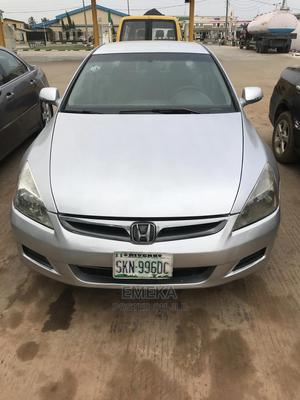Honda Accord 2007 2.4 Exec Automatic Silver | Cars for sale in Lagos State, Alimosho