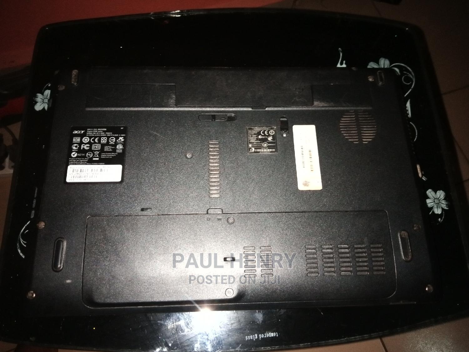 Laptop Acer Aspire 5336 4GB Intel Celeron HDD 500GB   Laptops & Computers for sale in Umuahia, Abia State, Nigeria