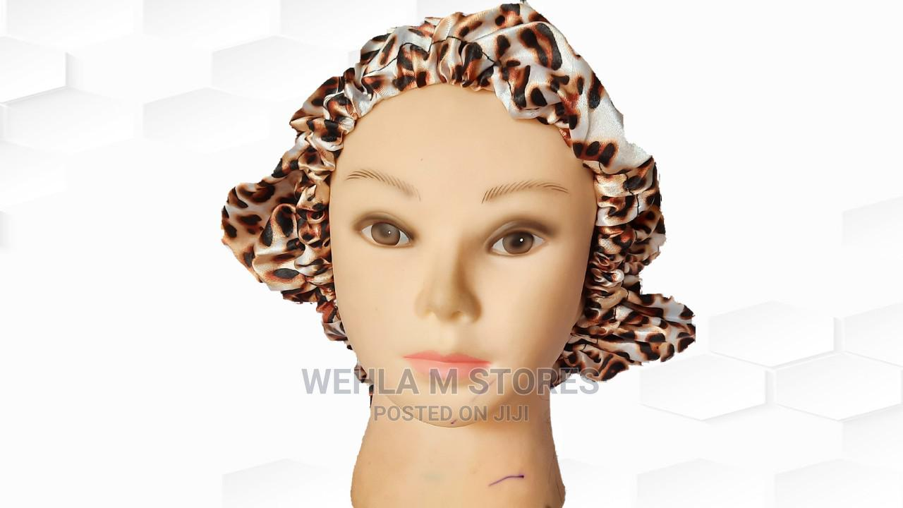 Satin Hair Bonnet/Sleeping Cap   Clothing Accessories for sale in Ikotun/Igando, Lagos State, Nigeria