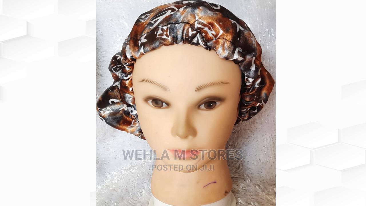 Satin Hair Bonnet/Sleeping Cap