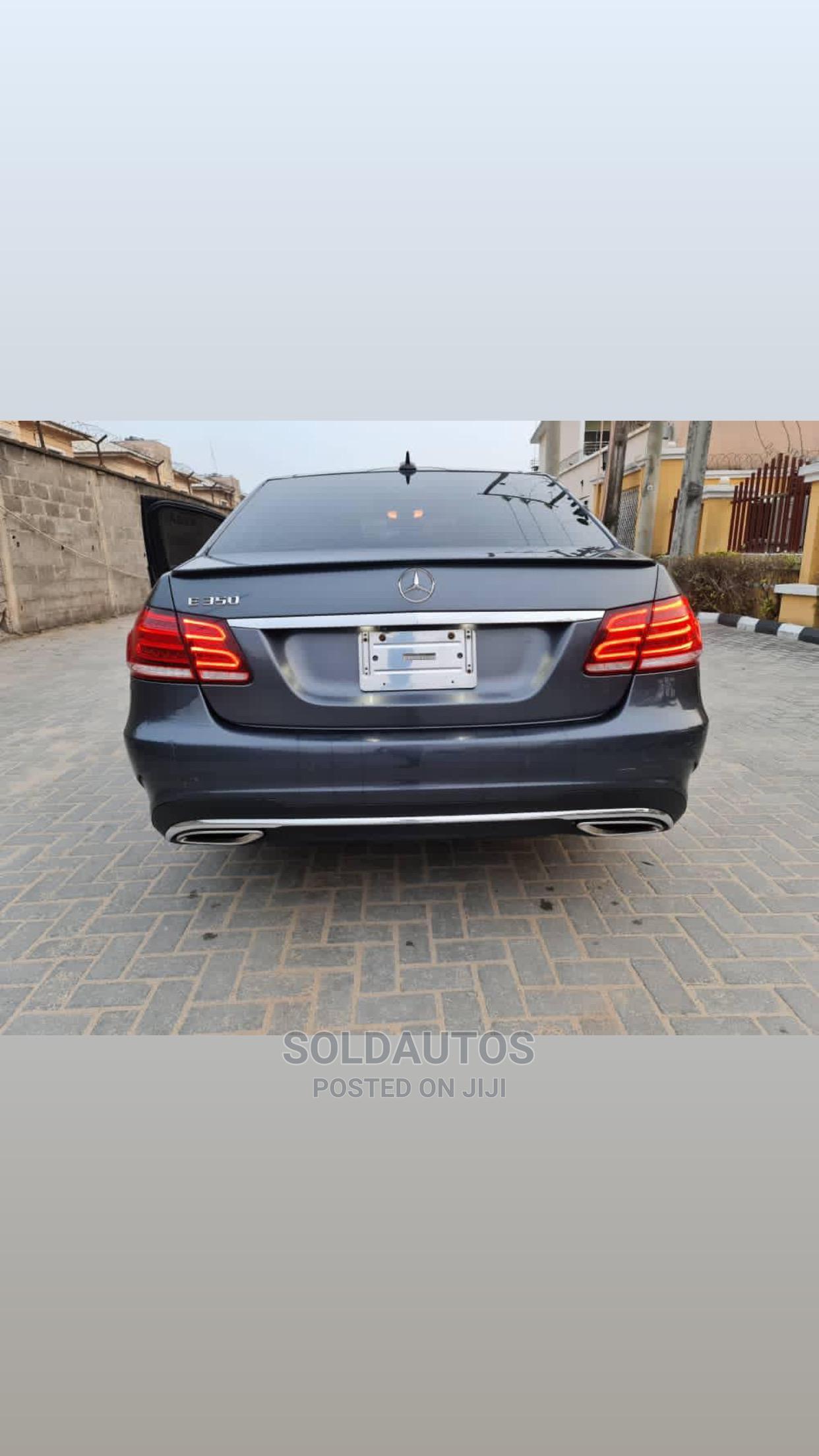 Mercedes-Benz E350 2015 Gray