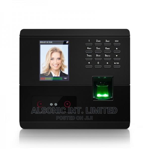 Face Recognition And Fingerprint Time Attendance And Access