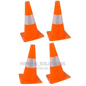High-Quality Safety Reflective Plastic Traffic Cone   Safetywear & Equipment for sale in Lagos State, Ikeja