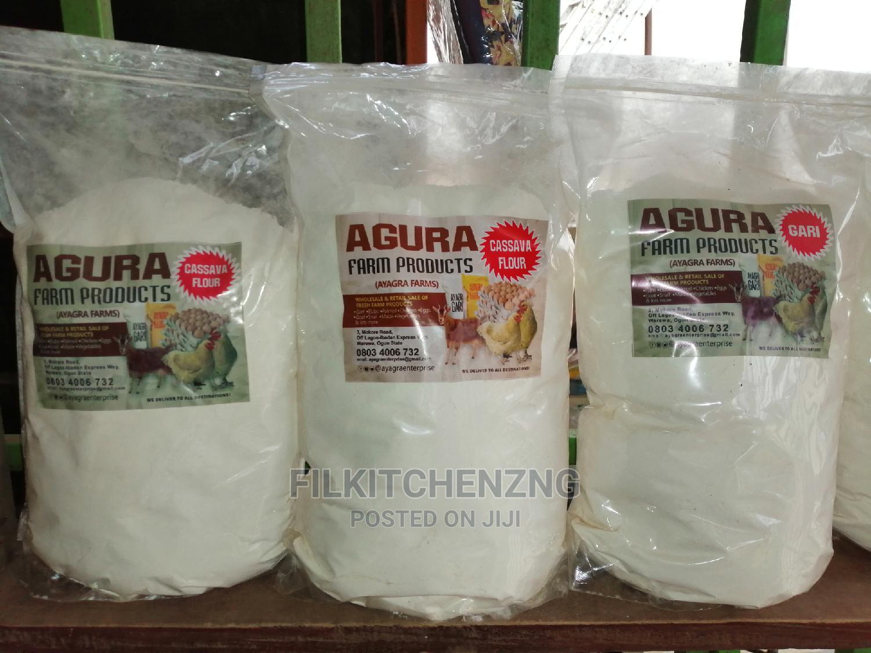 Archive: Elubo Lafu (Cassava Flour) for White Amala