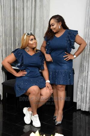 Beautiful Jeans Dress | Clothing for sale in Lagos State, Lekki