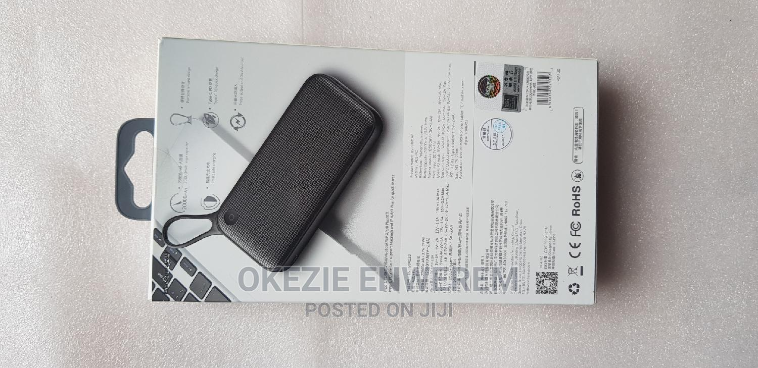 Baseus 20000mah Powerbank | Accessories for Mobile Phones & Tablets for sale in Ikeja, Lagos State, Nigeria